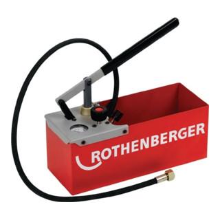 Rothenberger Prüfpumpe TP25 0-25 bar Doppelventilsystem (Twin Valve)