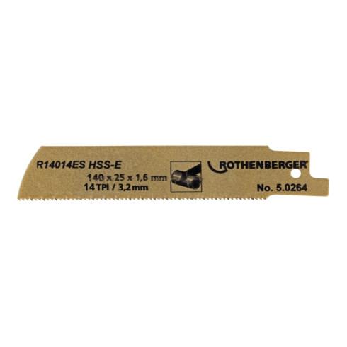 Rothenberger Spezial-Rohrsägeblatt HSSE,140x25x1,6