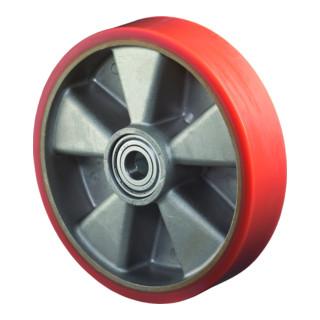roue de rechange D.roue 100 mm cap.charge 200 kg bandage en polyuréthane moulé D