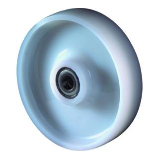roue de rechange D.roue 125 mm cap.charge 700 kg polyamide D. axe 20 mm L. de mo