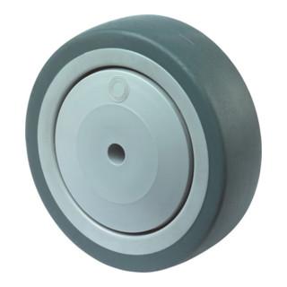 roue de rechange D.roue 150 mm cap.charge 100 kg caoutchouc D. axe 10 mm L. de m