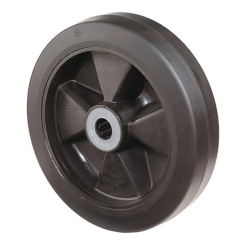 roue de rechange D.roue 160 mm cap.charge 250 kg caoutchouc D. axe 20 mm L. de m