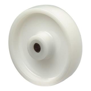 roue de rechange D.roue 58 mm cap.charge 100 kg plastique D. axe 8 mm L. de moye