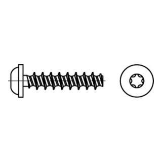 RSTplus Linsenkopfschraube für Kunststoff Innensechsrund (TX)