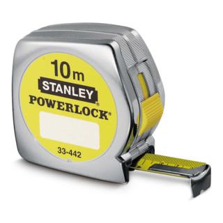 Ruban à mesurer Stanley Powerlock plastique 10m/25mm