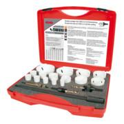 RUKO HSS Co 8-Bimetall-Lochsägensatz im Kunststoffkoffer Premium