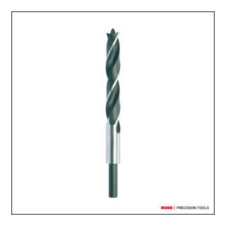 Ruko Maschinen-Holzspiralbohrer CV-Stahl