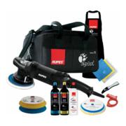 Rupes Exzenter-Poliermaschine LHR 21 Mark III Kit LUX mit 2 Schwaemmen, 2 Wolle Pad, 3 Polituren- 3 Mf Tuecher-1 Schuerze- Schwammentferner, Kabelklemme, Tasche