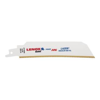 Lenox Säbelsägeblatt Gold Laser für Metall