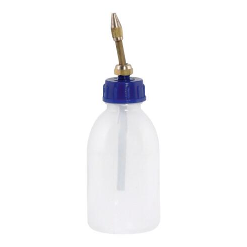 SAMOA-HALLBAUER Burette à huile en plastique avec tuyau d'écoulement, Capacité: 125 ml