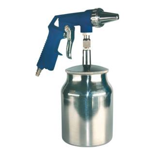 Sandstrahlpistole Druckluft ca. 5,4 l/s/6-8bar/Behälter 0,7l/f.Körnung 0,2-0,8mm