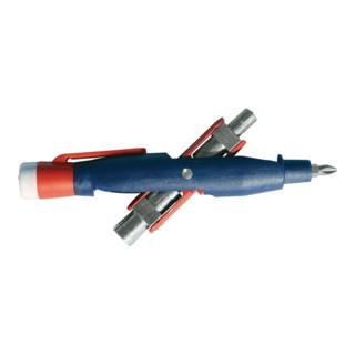 Schaltschrankschlüssel 7 Funktionen integr. Spannungsprüfer 50 - 600 V AC