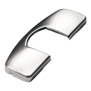 Scharniertopf-Abdeckkappe für Sensys-Bänder Stahl vernickelt