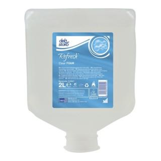 Schaumseife Refresh Clear FOAM 2l o.Duft-/Farbstoffe Kartusche STOKO