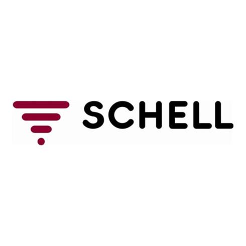 """Schell F+E-Kugelhahn mit Hebelgriff ASAG, Schlauchverschraubung, 16 bar mattchrom 1/2"""""""