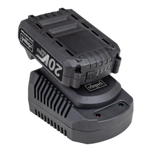 Scheppach Akku- Schlagschrauber CID150-20ProS + Starter-Kit