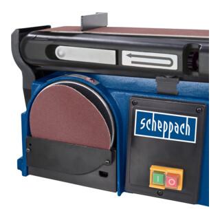 Scheppach Band- und Tellerschleifer BTS900 mit 3x Schleifbändern und Schleifscheibe