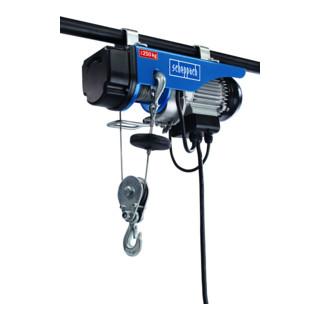 Scheppach elektrischer Seilzug HRS250 530 W 230V 50Hz