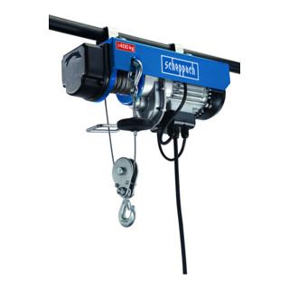Scheppach elektrischer Seilzug HRS400 780 W 230V 50Hz