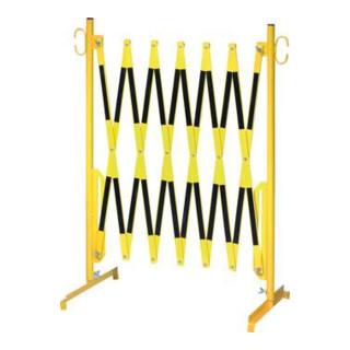 Scherengitter 3,6x1,05m gelb-schwarz+WB