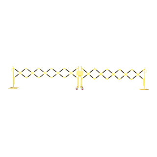 Scherengitter 4000 400x300x6 gelb-schwa