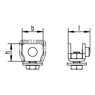 Schienenstopper 100 P-500 P 400 P Pro 400 STA Oberfläche ZN HELM