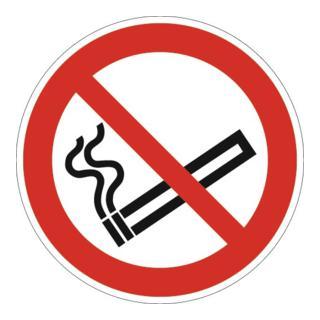 Schild Rauchen verboten D200mm Kunststoff rot/schwarz ASR A1.3 DIN EN ISO 7010
