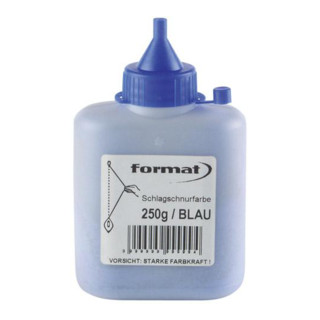 Schlagschnurfarbe 250g blau FORMAT