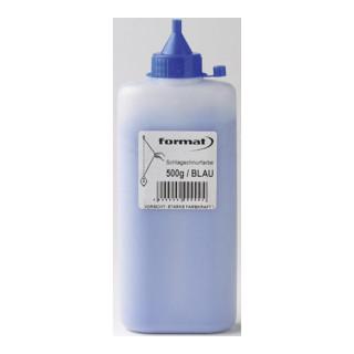 Schlagschnurfarbe 500g blau FORMAT