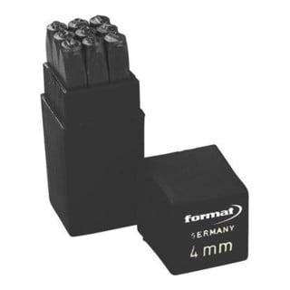Schlagzahlensatz SH 3mm FORMAT