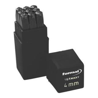 Schlagzahlensatz SH 4mm FORMAT