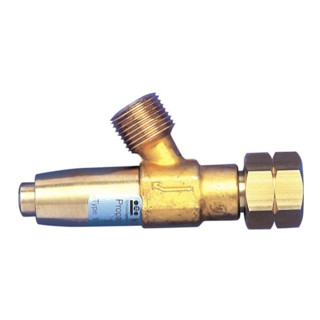 Schlauchbruchsicherung Propan G3/8Zoll LH 0,5-4bar Durchflussleist.max7,4-12kg/h