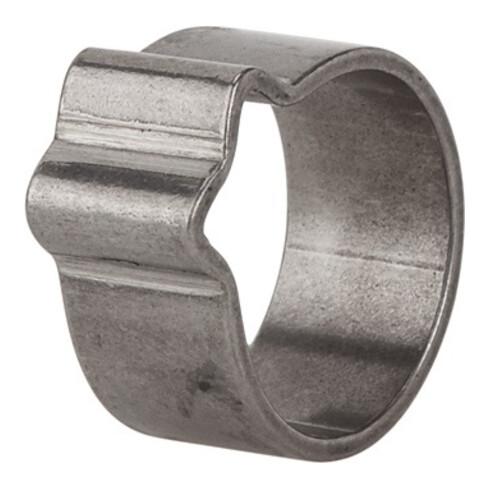 Schlauchklemme 1-Ohr VA 1.4301 (W4) Spannber.8-10mm 50St./Beutel RIEGLER