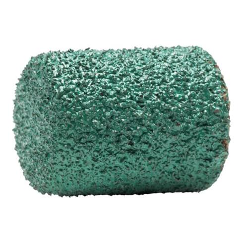Schleifkappe D13xH17mm K.150 ZY-Zylinder grün LUKAS