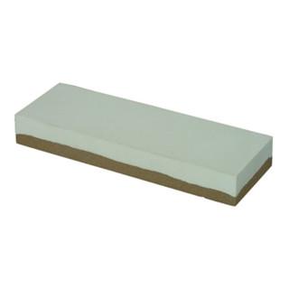 Schleifstein L200xB50xH20mm Super Arkansas 180/500 weiß/braun MÜLLER