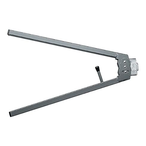 Schließblechzacker b. zu 2mm Blechdicke m. Messer