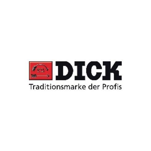 Schlüsselfeilensatz L.100mm Hieb 2 2K-Kunststoffheft DICK