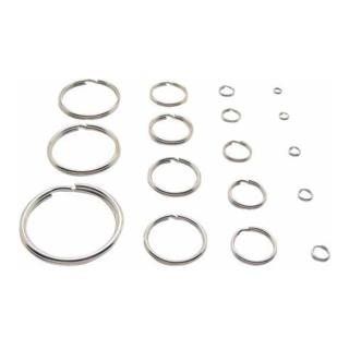 Schlüsselring SL38/2,0 Stahl-gehärtet-vernickelt