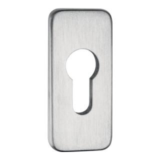 Schlüsselrosette 0812/9003 Alu.F1 Schildst.9mm PZ ktg.EDI