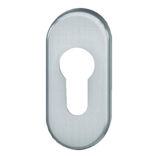 Schlüsselrosette 17 1766 VA 6204 Schildstärke 7mm PZ ov.