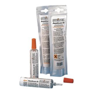 Schmelzklebstoff f.Heißklebepistole Pur Glue 50 50g/Alubeutel STEINEL