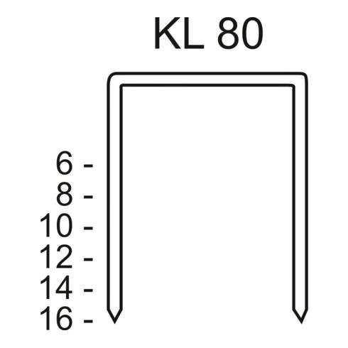 Schneider Heftklammer KL 80 CNK