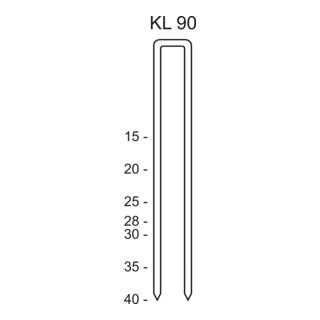 Schneider Heftklammer KL 90/30 CNKH/2000