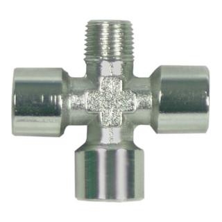 Schneider Kreuzstück KZS-NI R1/4a-3xG1/4i