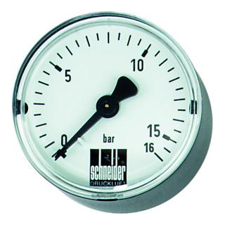 Schneider Manometer MM-W 50-10b 1/4