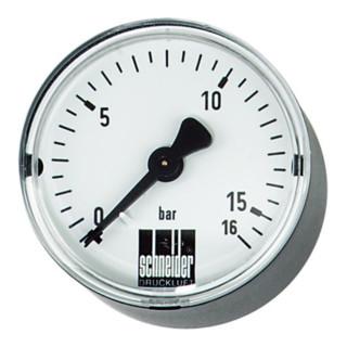 Schneider Manometer MM-W 50-10b 1/8