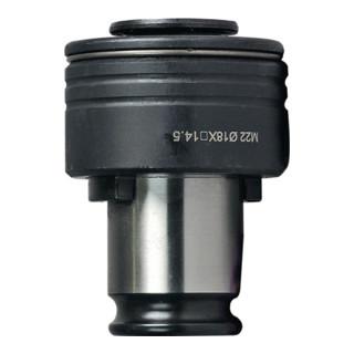 Schnellwechseleinsatz SES 22 mmx18mm Gr.3 f.DIN 374/376 M30