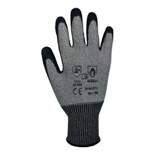 Schnittschutzhandschuhe Taeki5 grau mit PU-Beschichtung EN388