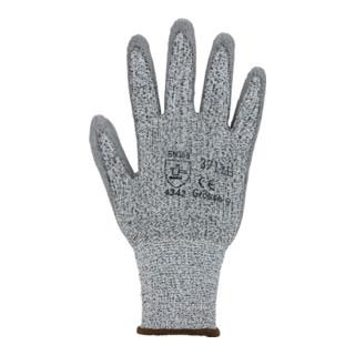 Schnittschutzhandschuhe Gr.7 grau/grau HDPE mitPUR EN 388 Kat.II 10 PA jetztbilligerkaufen