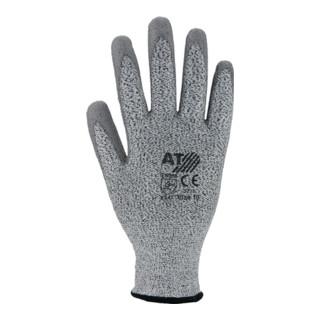 Schnittschutzhandschuhe grau PU-teilbeschicktet EN388 CE